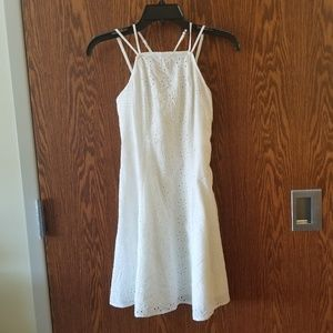 NWT Hollister White Halter A Line Dress